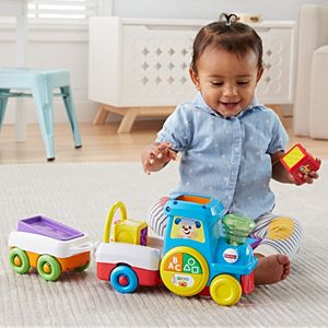 Laugh & Learn® First Words Crawl-Along Train