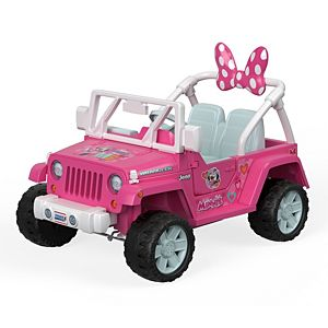 Power Wheels® Jeep® Wrangler featuring Disney Minnie Happy Helpers