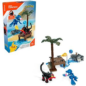 Mega Construx™ Pokemon™ Litten vs. Popplio