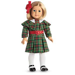 Kit's Christmas Outfit for 18-inch Dolls