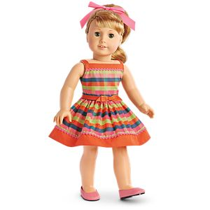 Maryellen's Rockin' Roller Skating Outfit for 18-inch Dolls