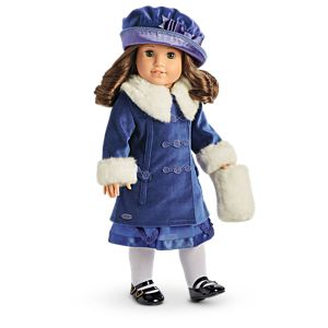 Rebecca's Winter Jacket for 18-inch Dolls