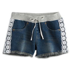 Flower Shorts for Girls