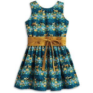 Deer Print Dress for Girls