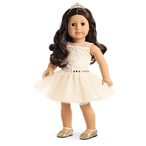 Celebration Dress for 18-inch Dolls