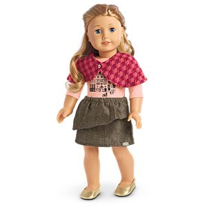 Winter Sightseeing Outfit for 18-inch Dolls