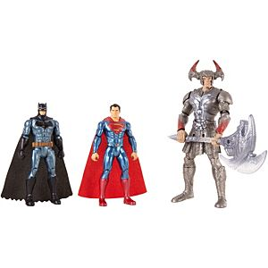 Justice League Batman™, Steppenwolf™, Superman™ 3-Pack Figures