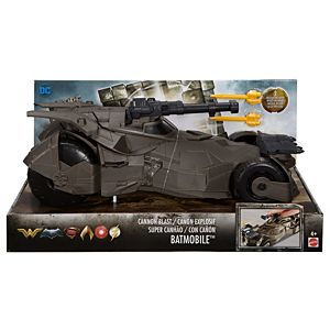"Justice League Cannon Blast 12"" Batmobile™ Vehicle In Open Tray"