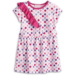 Colorful Dots Top for Little Girls