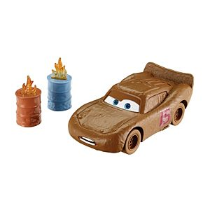 Disney•Pixar Cars Demo Derby Lightning McQueen as Chester Whipplefilter Vehicle