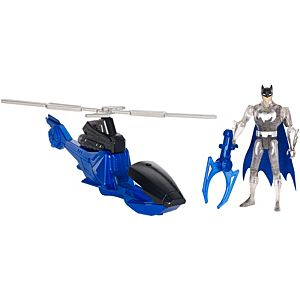 Justice League Action Batman™ And Batcopter™ Vehicle And Figure