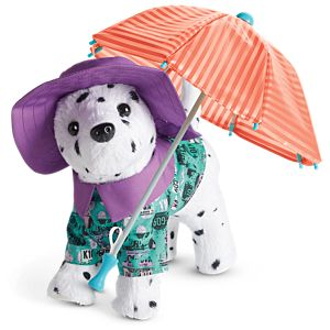 Popcorn's Rainy Day Outfit