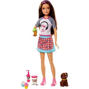 Skipper® Doll with Ice Cream & Puppy