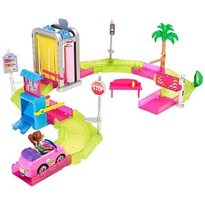 Barbie® On The Go™ Car Wash Playset