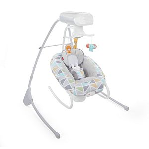 2-in-1 Deluxe Cradle 'n Swing