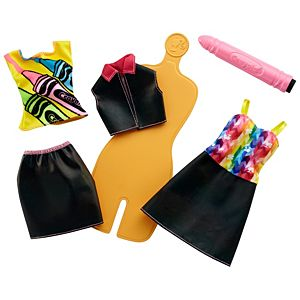 Barbie® Crayola® Rainbow Design Fashion Set