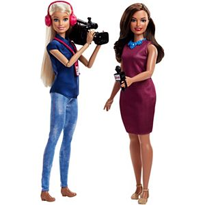 Barbie® TV News Team Doll