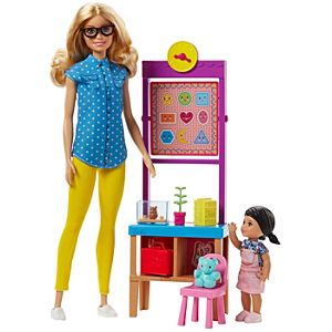 Barbie® Teacher Doll with Flipping Blackboard Playset