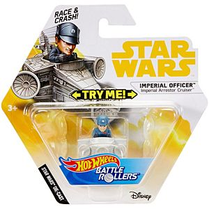 Hot Wheels® Star Wars™ Imperial Officer™ Imperial Arrestor Cruiser™ Vehicle