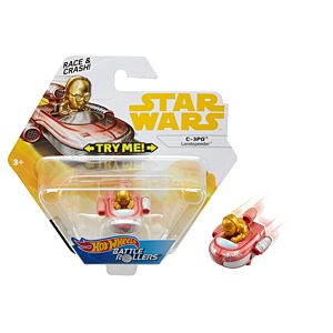 Hot Wheels® Star Wars™ C-3PO™ Landspeeder™ Vehicle
