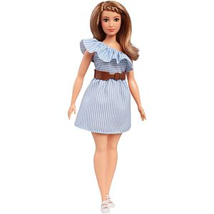 Barbie® Fashionistas® Doll 76 Purely Pinstriped - Curvy