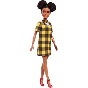 Barbie® Fashionistas® Doll 81 Cheerful Check - Petite