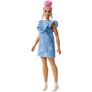 Barbie® Fashionistas™ Doll 95 – Curvy with Pink Updo