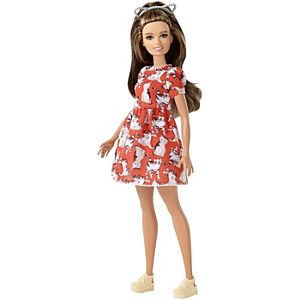 Barbie® Fashionistas™ Doll 97 – Petite with Brunette Waves
