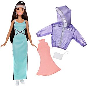 Barbie® Fashionistas® Doll 87 Sweet & Sporty Doll & Fashions – Original