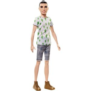 Ken® Fashionistas® Doll 3 Cactus Cooler - Slim