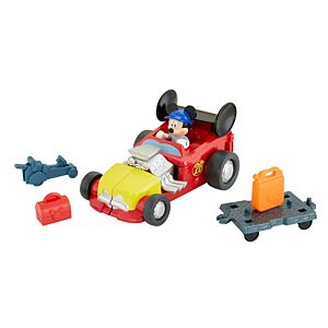 Disney Mickey and the Roadster Racers - Mickey's Roadster Transforming Playset