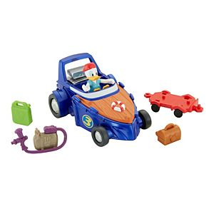 Disney Mickey and the Roadster Racers - Donald's Cruiser Transforming Playset