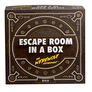 Escape Room in a Box™ The Werewolf Experiment