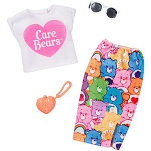 Barbie® Care Bears™ White Top/Skirt Fashion