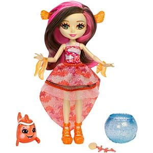 Enchantimals™ Clarita Clownfish™ Doll & Cackle Water Animal Figure