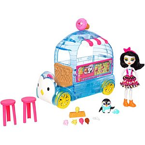 Enchantimals™ Wheel Frozen Treats™ Preena Penguin™ Doll & Playset