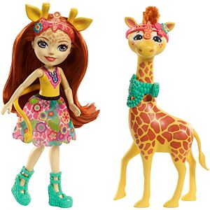 Enchantimals™ Gillian Giraffe™ Doll & Pawl Figure