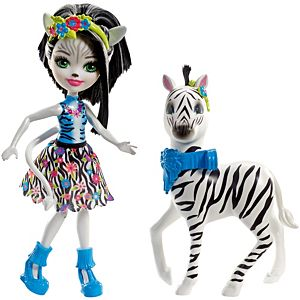 Enchantimals™ Zelena Zebra™ Doll & Hoofette Figure