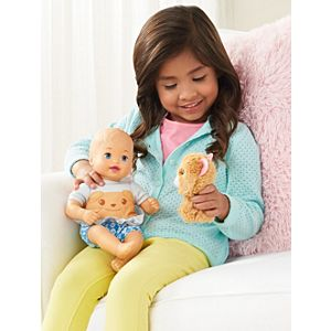 Little Mommy™ Cuddle and Care™ Doll & Plush Pet
