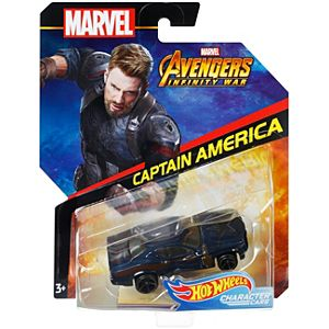 Hot Wheels® Marvel Captain America Vehicle