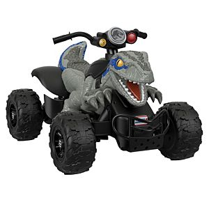 Power Wheels® Jurassic World™ Dino Racer ATV Ride-On