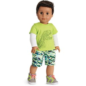 Dino-mite Outfit for 18-inch Dolls