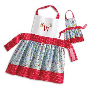 Apron Set for WellieWishers Dolls & Girls
