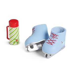 Winter Fun Hot Cocoa & Skating Set for WellieWishers Dolls