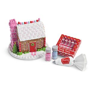 Festive Gingerbread House Set