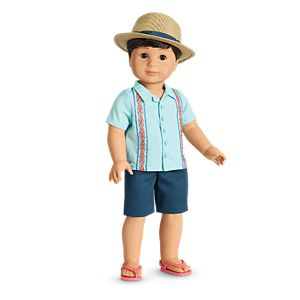 Sun & Fun Outfit for 18-inch Dolls