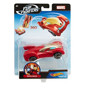 Hot Wheels® Marvel™ Flip Fighters™ Iron Man™ Vehicle