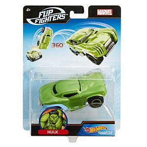 Hot Wheels® Marvel™ Flip Fighters™ Hulk™ Vehicle