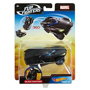 Hot Wheels® Marvel™ Flip Fighters™ Black Panther™ Vehicle