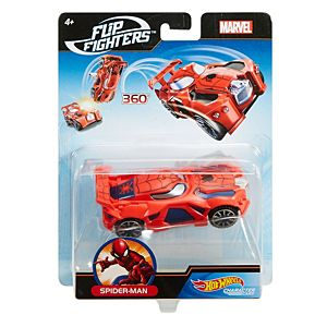 Hot Wheels® Marvel™ Flip Fighters™ Spider-Man™ Vehicle